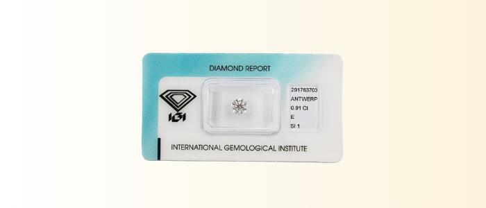 diamanti certificati
