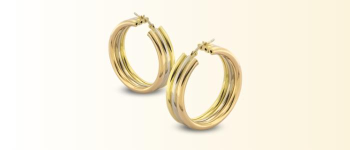 orecchini oro usati
